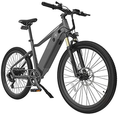 Bicicleta de montaña eléctrica, Adultos bicicleta de montaña eléctrica, 250W Motor 26 pulgadas aire libre que monta bicicletas 7 E Velocidad de transmisión con los frenos de disco del medidor dual a p