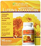 Trunature Vision Complex Lutein and Zeaxanthin 140 Count Total Tbmkcx