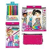 Fashion Angels 32666 Fashion Designer Essentials Set, Amazon Exclusive, Fashion Design Starter Set