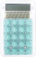 $20 » HMEI Transparent Calculator Electronic Desktop Calculator LCD Display Mini Pocket Calculator for Office Student Test Kid G...