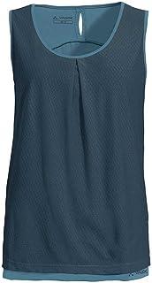 VAUDE Women's Skomer Top III Top, Womens, Top, 42318, Blue (Steel Blue), 40