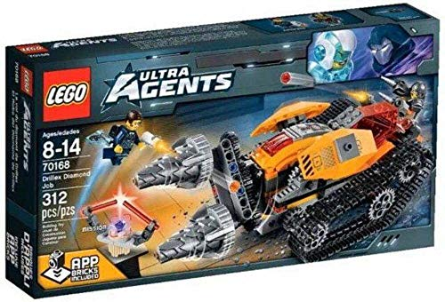 LEGO Ultra Agents 70168 - Drillex Diamanten Diebstahl