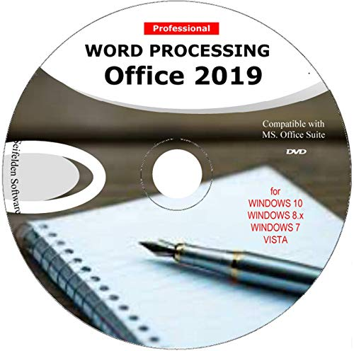Word Processing Office Suite 2019 Perfect Home Student and Business for Windows 10 8.1 8 7 Vista XP 32 64bit  Alternative to Microsoft™️ Office 2016 2013 2010 365 Compatible Word Excel PowerPoint⭐⭐⭐⭐⭐