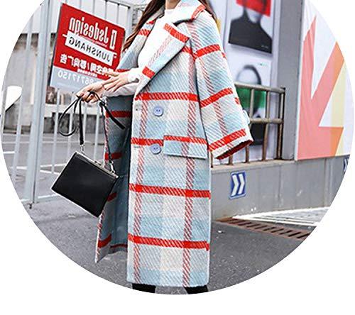 world-palm women coat - Abrigo - Moderno - para Mujer Azul Blue...