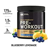 Optimum Nutrition Gold Standard Pre-Workout with Creatine, Beta-Alanine, and Caffeine for Energy, Keto Friendly,...