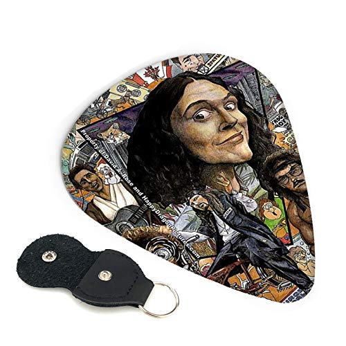 Weird Al Yankovic Guitar Picks For 6-String/4-String Electric Guitar Acoustic Guitar Mandolin And Bass Ukulele Guitar Pick Punch Gift 6 Picks