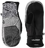 Volcom – Manoplas de esquí y Snow Stay Dry Gore-tex para hombre, talla XL, color negro