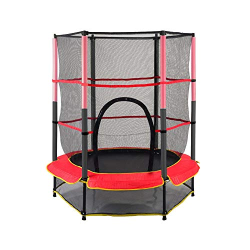 YY-JJ Fitness Mini Trampoline,elastic Rope Protection Net Trampoline,Safety,children's Fitness Indoor And Outdoor Home,fitness trampoline
