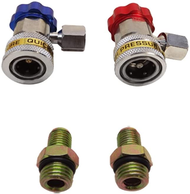 AC Air Directly managed store Condition Indefinitely QUICK COUPLER Adapter Low C Freon High Manifold