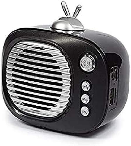 Kooltech 014842 Altavoz Bluetooth, Forma Tv Negro