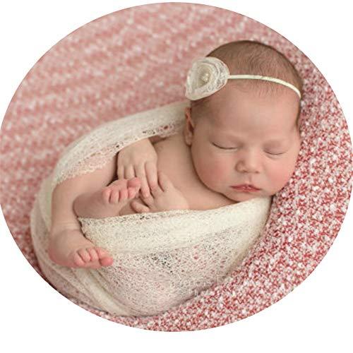 Kuingbhn Foto-Requisiten, Wickeltuch für Neugeborene, Hollow Fotografie Requisiten für Neugeborene...
