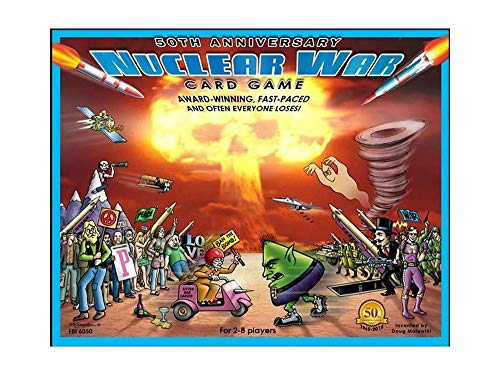 Nuclear War Card Game 50th Anniversary Edition by Flying Buffalo