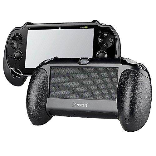 Insten New Trigger Grips Hand Grip Compatible With PS Vita PSVita Playstation Vita 1000 (PCH-1000), black
