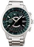 オリエント時計 腕時計 オリエント 自動巻 万年カレンダー 海外モデル SEU07007FX メンズ シルバー