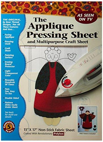 Bear Thread Applique Pressing Sheet (10206)