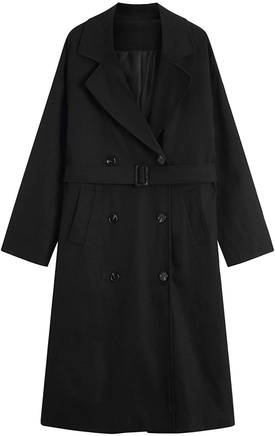MOCRIS Trench Coats for We OFFer at cheap Max 40% OFF prices Overco Double-Breasted Mid-Length Women