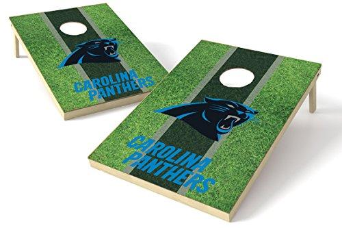 Proline NFL Cornhole Set - Field Design, Carolina Panthers 2x3 Cornhole Board Set - Field, Teamfarbe, 2' x 3'