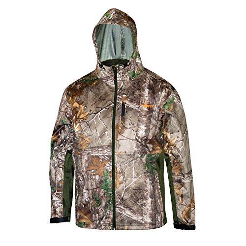 HABIT WJ630-F16-1-6-188-L Men's Hardshell Full Zip Waterproof Jacket, Large