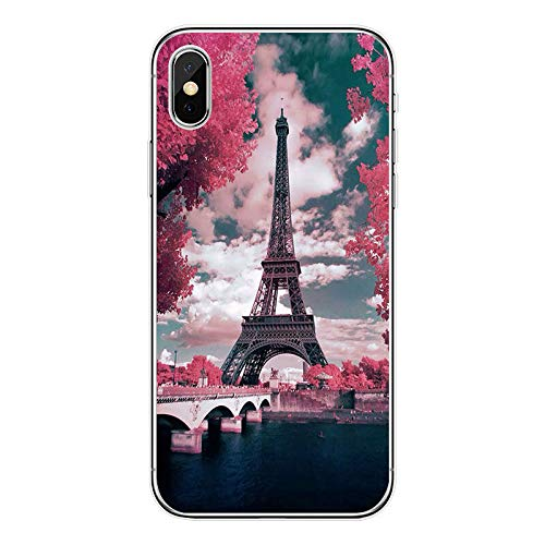 Deal Market LLC - Paris France Eiffel Tower Hard Rubber Phone Case for Apple iPhone XR. Made and Shipped from USA