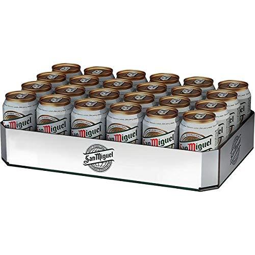 2 x 24 latas de 0,33 l. Lager especial de San Miguel, 5% vol. Depósito incluido,...