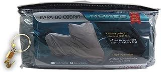 Capa protetora para cobrir motos Tamanho M com cabo e cadeado