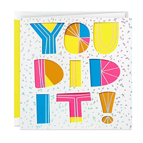 Hallmark Signature Congratulations Card (You Did It) (599RZH8005)