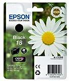 Epson Pâquerette 18 T1801 Cartouche d'encre Noir Amazon Dash Replenishment est prêt
