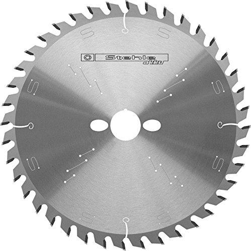 Stehle 58116401 handcirkelzaagblad voor accu-handcirkelzagen Z=40 trapezza - vlakke tand hardmetaal