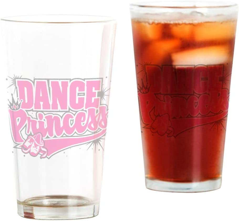 Pint Drinking Glass Princess Bombing new work Limited time cheap sale Dance