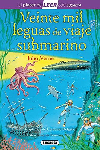 Veinte mil leguas de viaje submarino: Leer Con Susaeta - Nivel 4 (El placer de LEER con Susaeta - nivel 4)