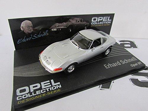 Eaglemoss Auto 1/43 - OPEL Sammlung Designer - OPEL gt - Erhard Schnell