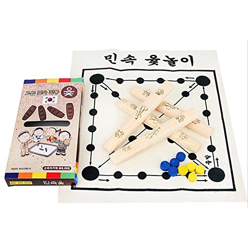 Elixir Toy Korean Board Game Yut Nori Yut Game Yoot Game Yutnori Set