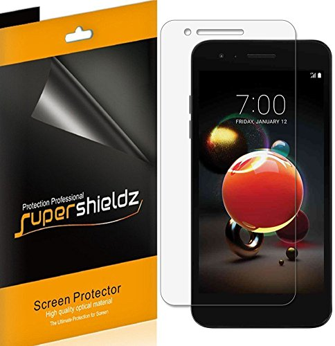 (6 Pack) Supershieldz Designed for LG (Fortune 2) and LG K8s Screen Protector, High Definition Clear Shield (PET)