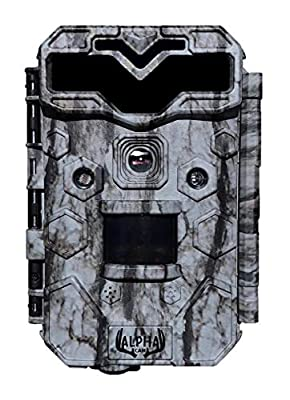 "Alpha Cam Premium Hunting Trail Camera 30MP 1080p H.264 30fps IP67 Waterproof Scouting Cam with Ultra Fast Trigger Speed and Recovery Rate HD Long Range IR Night Vision 2.4"" LCD from Alpha Cam"