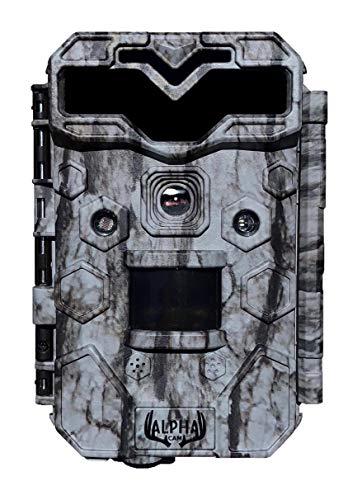 Alpha Cam Premium Hunting Trail Camera 30MP 1080p H.264 30fps IP67 Waterproof Scouting Cam