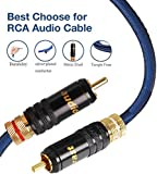 Zoom IMG-1 audiocrast cavo audio rca 2