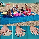 YEARGER Alfombra de playa mágica de arena para playa, portátil,...