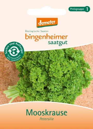 Bingenheimer Saatgut - Petersilie Mooskrause - Kräuter Saatgut / Samen