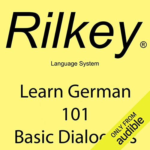 Learn German: 101 Basic Dialogues audiobook cover art