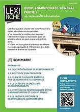 Livres Droit administratif général partie 2 : La responsabilité administrative PDF