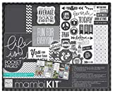 me & my BIG ideas Boxed Album Kit, Life is Good, 12-Inch by 12-Inch