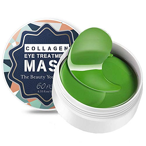 Under Eye Mask, Collagen Eyes Mask 60 PCS, Eye Gel Pads, Under Eye Patches Treatment for Reducing Dark Circles,Moisturizing,Lighten Wrinkles Anti-Aging,Fine Lines,Eye Bags,Puffiness for Women Men