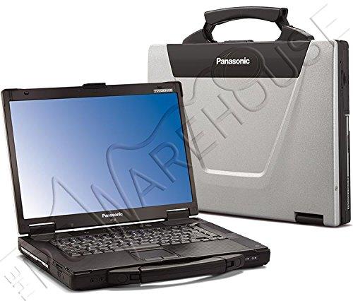 Panasonic Toughbook CF-52 4GB RAM 250GB HDD Windows 7 semi-Rugged Laptop with 15.4' Screen