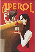 Aperol Vintage Advertising Wall Decor Poster 15.8'' x 19,7'' (40x50cm)