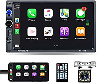 $86 » Universal Double Din Car Stereo 7 Inch Touch Screen D-Play Car Radio with Bluetooth FM Radio Receiver Car Player Support T...