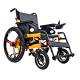 YHSDDLY Elektro-Rollstuhl - Faltbare Elderly 4 Wheel Scooter, intelligentes 24-Zoll-Aluminium-Legierung Rad, 360 ° Steuerung, Anti-Roll- einfach zu Fahren Automatische Rollstühle