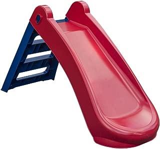 Palplay Foldable Slide Playset, Red/Blue