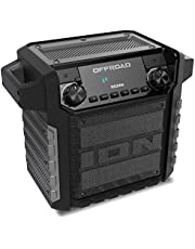 iOn Offroad Audio - oplaadbare outdoor luidspreker met bluetooth streaming, USB-oplaadaansluiting, AUX-ingang en microfoon, 50W Offroad.