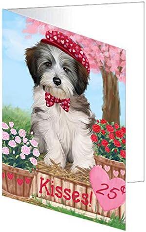 Rosie 25 El Paso Mall Cent Kisses Tibetan GCD72872 Terrier Greeting Dog Card 2021 new