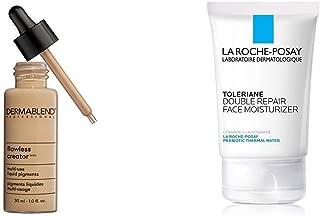 Dermablend Flawless Creator Multi-Use Liquid Foundation, 40N + La Roche-Posay Toleriane Double Repair Face Moisturizer